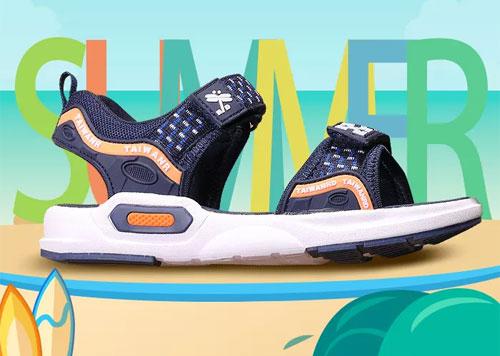 台湾红蜻蜓企业童鞋 让你成为下一个追风少年