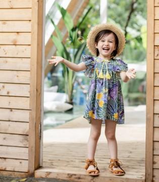 欧恰恰品牌童装2019新品上市 欢乐伴童年 清凉伴夏天