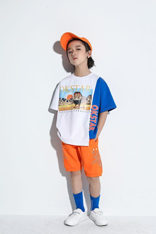 欧卡星时尚T恤 让男宝穿搭阳光帅气