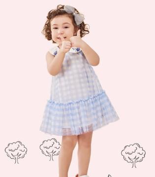 铅笔俱乐部女童连衣裙  让宝贝美美过一夏