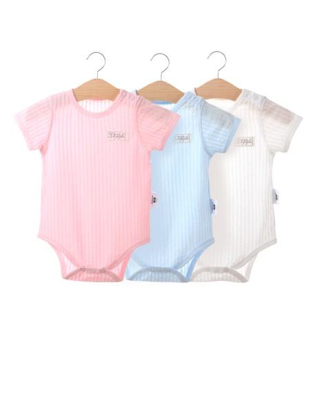 素羽佳童装品牌2019春夏新品婴儿包屁衣