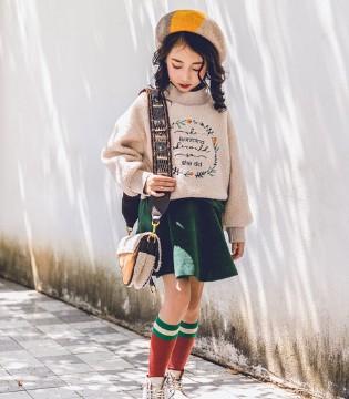 韩米娜风尚童装教你秋冬季节如何穿搭