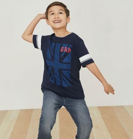 Gap品牌童装舒适有个性   孩子穿搭不用愁