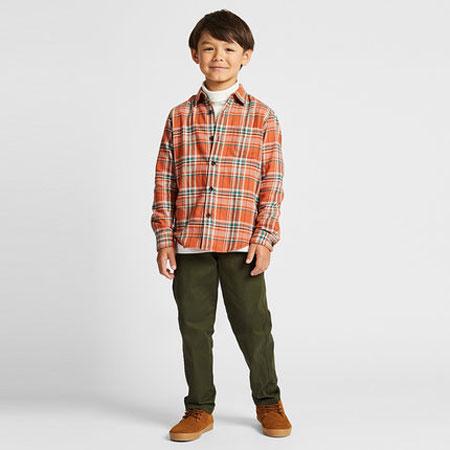 秋季要穿什么 经典格子衬衫童年潮向未来