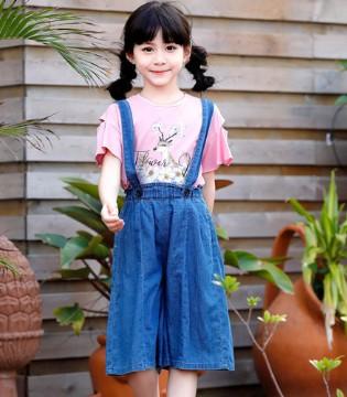 虽然我们小 但我们也要穿上班吉鹿童装漂漂亮亮过七夕