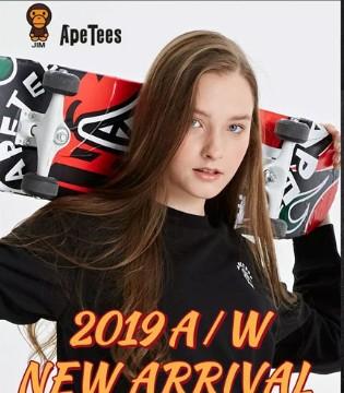 新品上市  Ape Tees 2019AW   开启秋冬潮流风范