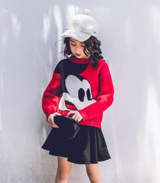 韩米娜・风尚童装毛衣新鲜出炉  这个秋季我们不一样