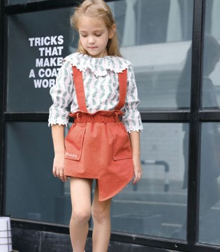 芭乐兔童装女童休闲套装 风格新颖工艺精湛
