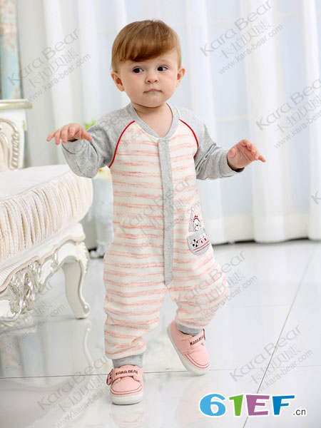 童装加盟哪个好 卡拉贝熊婴童服行业火热加盟中