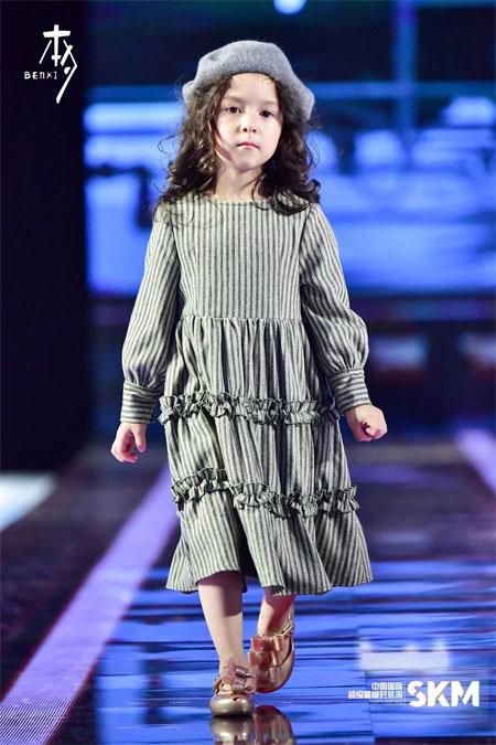 本夕童装 中国超级童模大赛本色出演