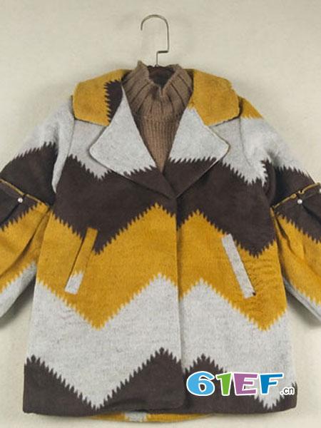 皮咖丘时尚外套 穿出宝宝帅气十足的个性