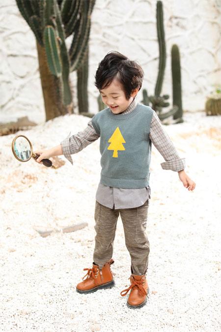 初秋即将来袭 男童秋冬季新款已准备好