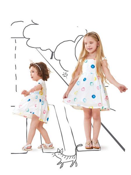 小吊带女上衣怎么穿好看?铅笔俱乐部呈现靓丽女童造型
