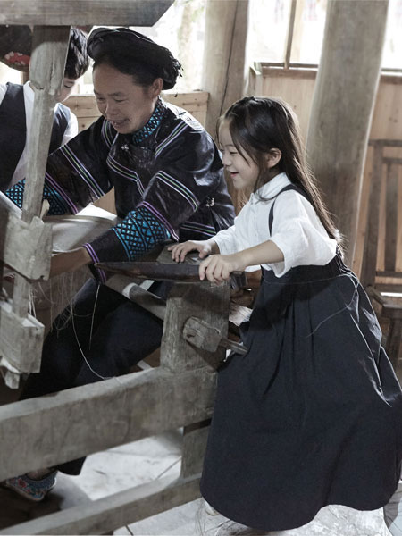 时代在变但风格永存 森虎儿童装又兴起一波复古民国风