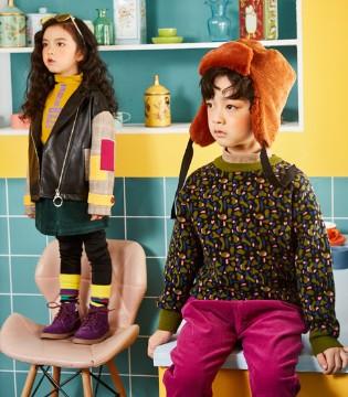 小资范秋季童装重磅来袭 小孩子的穿搭如此简单