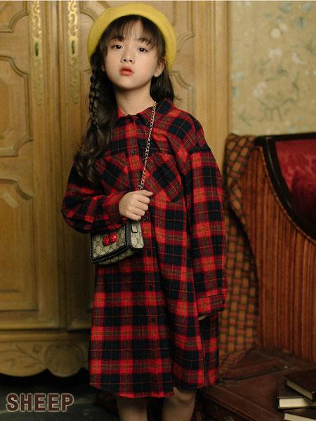 开学咯 穿贝蒂小羊童装品牌格子衬衫吧!