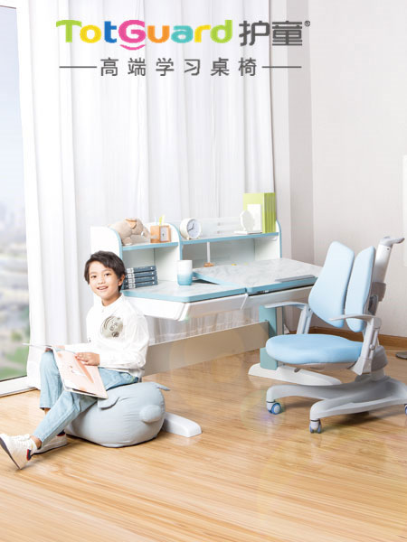 比起父母的念叨 它们更能矫正孩子坐姿!