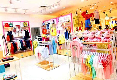 贺喜经销商林美女芭乐兔童装店即将开业大吉!