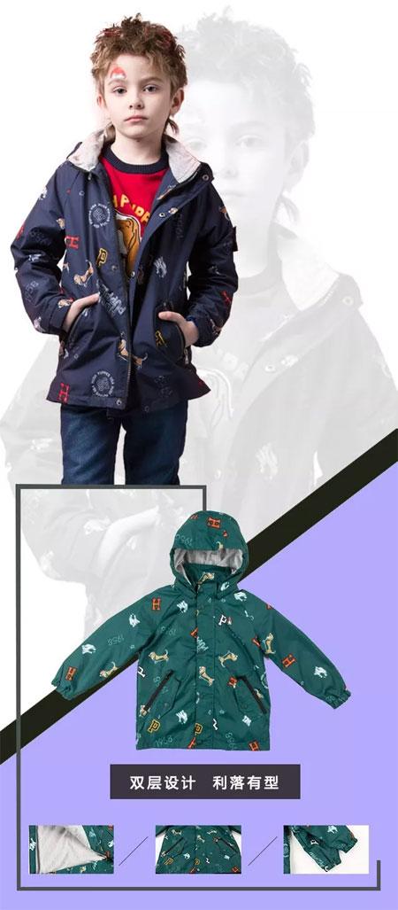暇步士童装:秋天来了 温暖新品第二波!