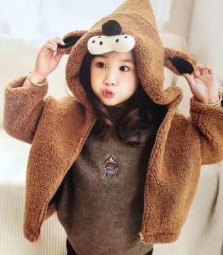 寒冷季节女宝宝穿搭 让你保暖又时尚