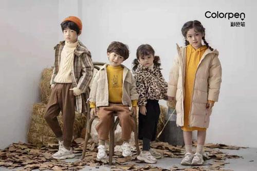 金秋十月喜悦多 祝贺三位家人成功签约彩色笔品牌童装