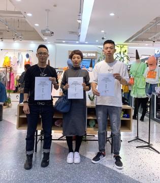 彩色笔河南招商会 恭喜五位女士成功签约!