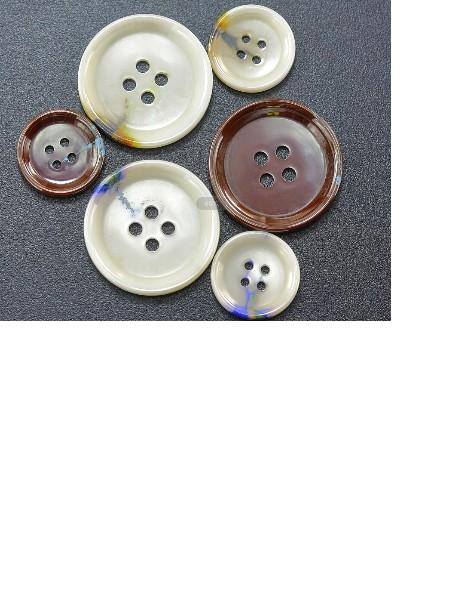 汤斯敦高档双色陶瓷纽扣厂家供应可零售批发
