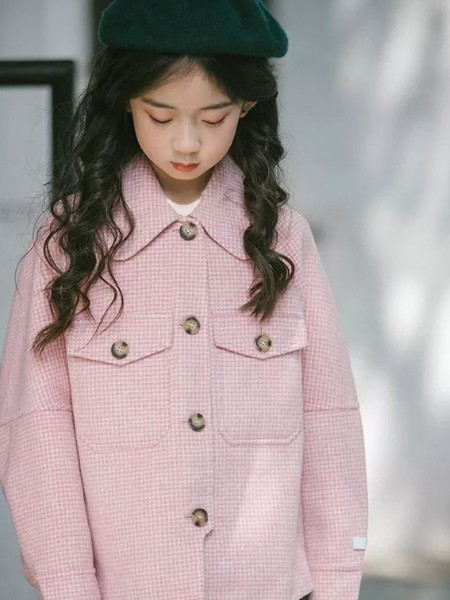 Outride越也  童装品牌2019秋冬新品毛呢外套