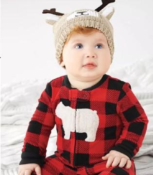 给宝宝恰到好处的温暖 Carter's秋冬连体衣选购指南