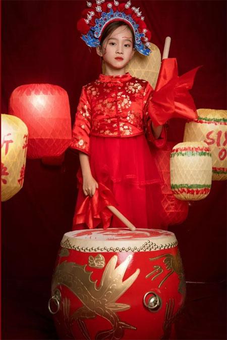 Alphabet   U·JAR 中国孩子中国年  国潮来袭 年味十足
