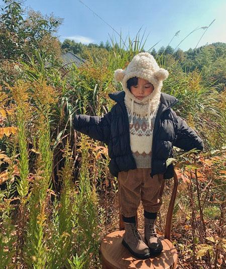 自然界的元气少女 清新演绎时尚冬天