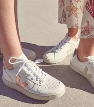 来自巴西的法国品牌 Veja文艺清新小白鞋