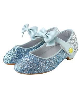 漂亮的冰雪公主鞋 满足宝贝的童话心愿