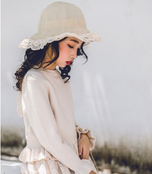 甜美可爱的针织衫  能够让你温暖过冬