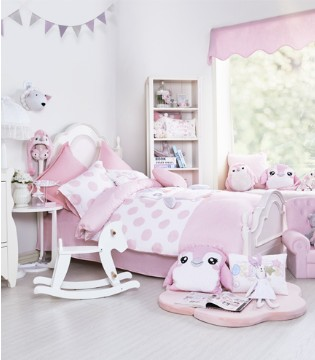 孩子的健康成长 需要一套舒适的床上用品