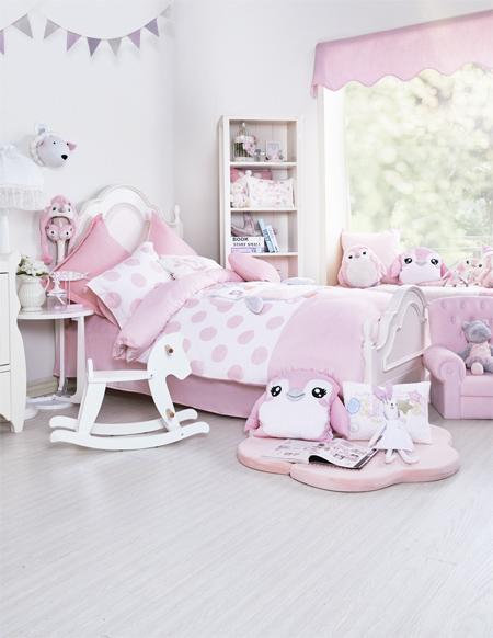 孩子的健康成长 想需要一套舒适的床上用品