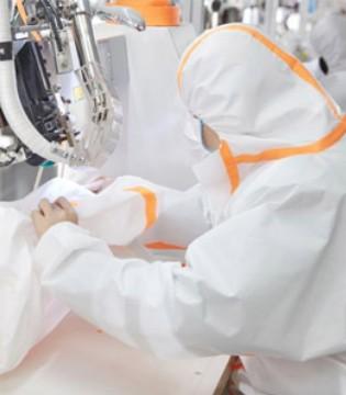 梦洁集团投产医用口罩及防护服 日产10万跑出抗疫速度