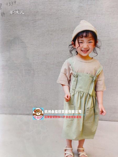 姜沫儿童装品牌2019春夏新品