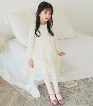 唯心至爱上新:美美美的女童蕾丝公主裙