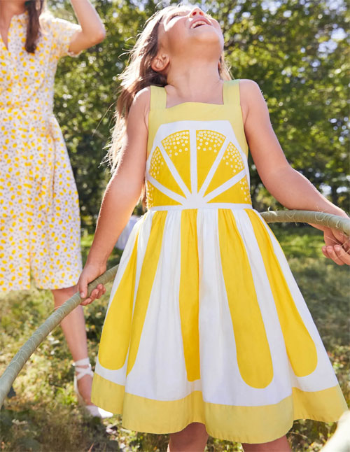 Boden春夏系列 会使人心情变好的连衣裙