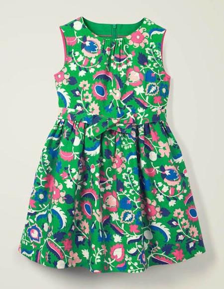 人见人爱的碎花裙 让你穿出田园风格