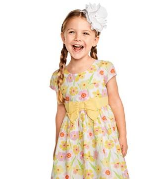 期待暖暖的四月 换上漂亮的公主裙迎接!