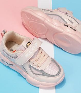 粉色系的运动鞋 运动时刻也保持可爱