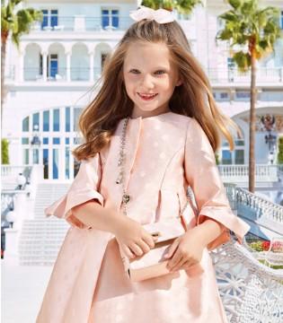 展现优雅气质的连衣裙 Panache Kids的粉色新品