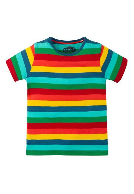 恬静的彩虹上衣 让你甜美充满魅力