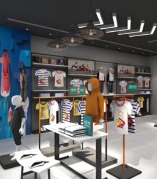 运动也要时尚感 五一来匹克儿童店换新装备!