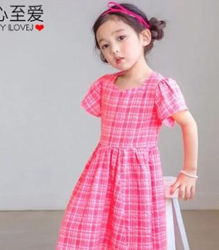 唯心至爱粉红格子连衣裙来袭 公主范十足