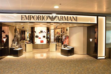 奢侈品Armani 重启全球零售门店 再次扬帆起航