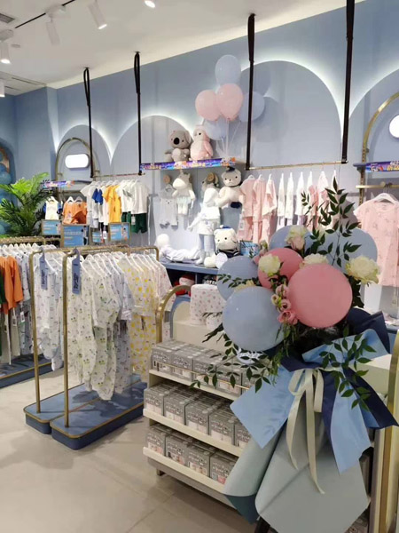 恭贺梦洁宝贝成都仁和新城旗舰店正式开业