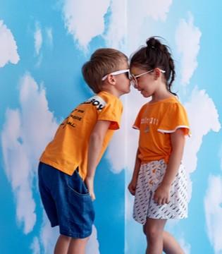 有爱的兄妹or姐弟装 让儿女间的感情更加和谐
